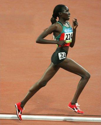 Linet Chepkwemoi Masai - OL 2008 - 10.000 meter